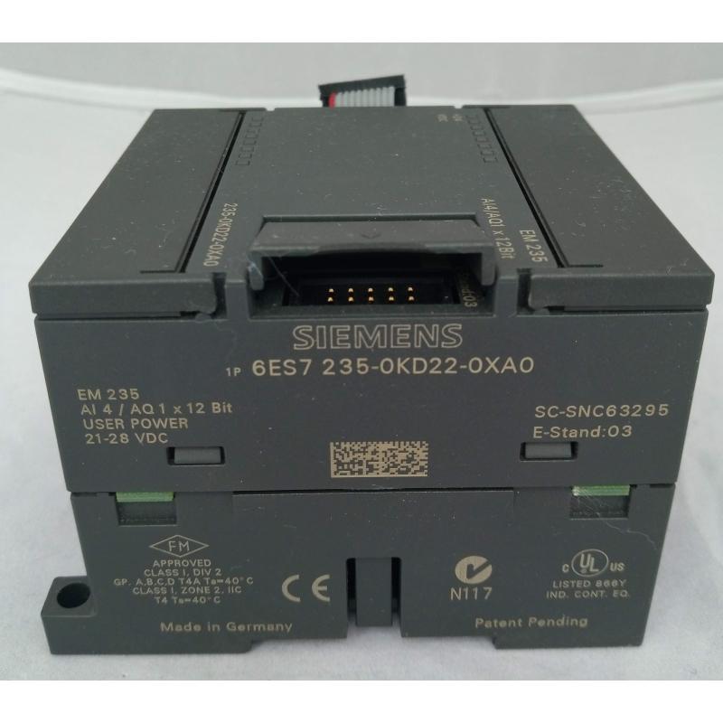 Siemens Simatic S7-200 6ES7235-0KD22-0XA0 EM 235 AI4//AO1x12Bit Analog I//O Unit